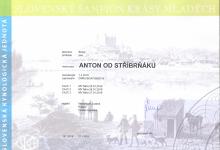 Anton od Stříbrňáku